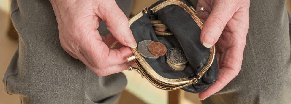 Almost half of pensioners worry about running out of money